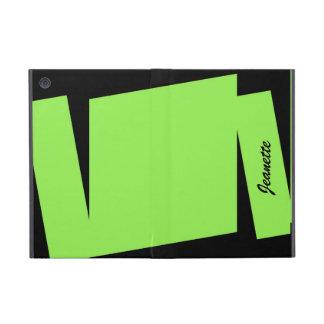 iPad Mini Folio Case, Triple Stripe of Color iPad Mini Case