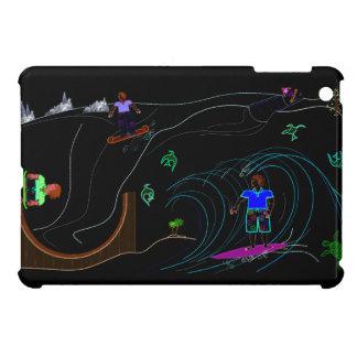 iPad-mini w/ Surfin' Graphic Cover For The iPad Mini