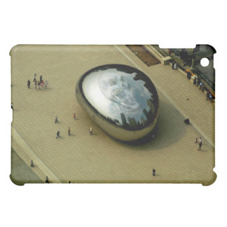 ipad pic of chicago bean and skull cover for the iPad mini