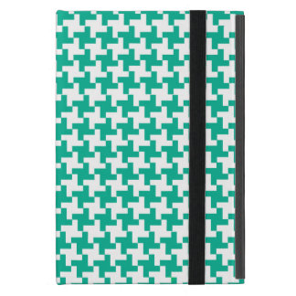 iPad Powis Mini Case Emerald Green Dogstooth Check