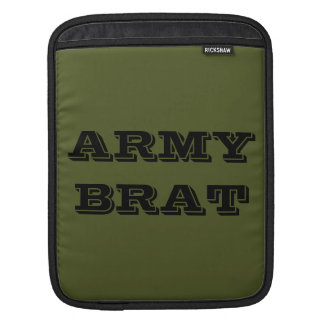 Ipad Sleeve Army Brat