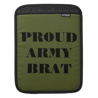 Ipad Sleeve Proud Army Brat