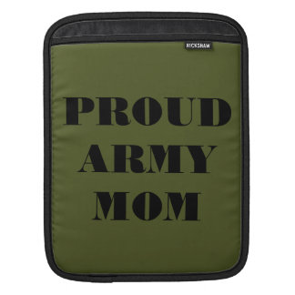 Ipad Sleeve Proud Army Mom