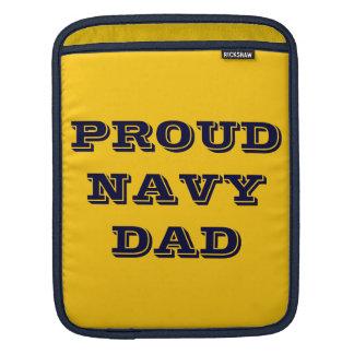 Ipad Sleeve Proud Navy Dad