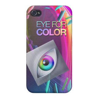 iPhone4/4s Eye for Color Basic Case Case For iPhone 4