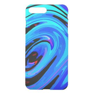 iPhone7 Plus Case Ultra Slim Feeling Blue Design