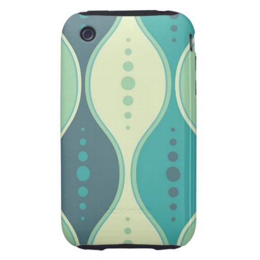 iPhone 3 Case seamless retro pattern