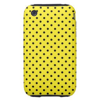iPhone 3G/3GS Case Hot Yellow Polka Dot