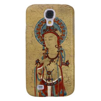 iPhone 3G/3GS - Scripture Buddha Crackle Backgr Galaxy S4 Case