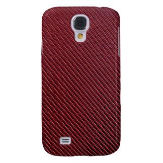 iPhone 3G Case - Carbon Fiber - Metallic Red