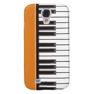 iPhone 3G Case - Piano Keys on Pumpkin