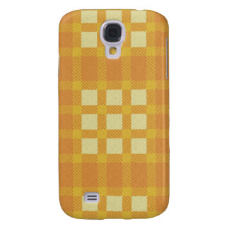 iPhone 3G Case - Textured Plaid - Coral
