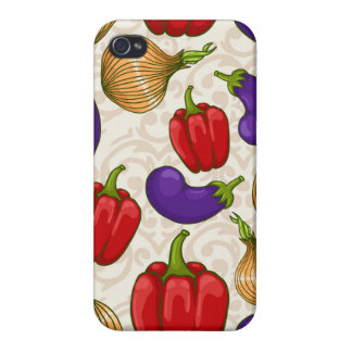 Iphone 4/4s case with vegetables