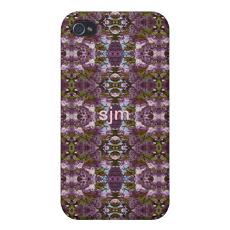 iPHONE 4/4S Speck Case - Mauve geometric pattern iPhone 4 Covers