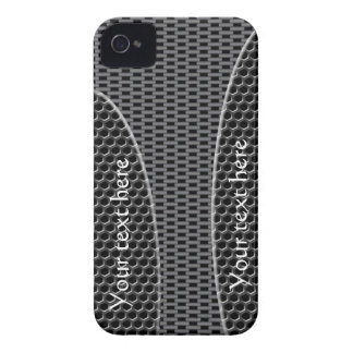 iPhone 4 case Carbon 3D Gift Text