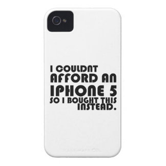 iPhone 4 Case: I couldn't afford an Iphone 5... iPhone 4 Case-Mate Cases