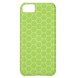 iPhone 5 Acid Green Honeycomb iPhone 5C Case