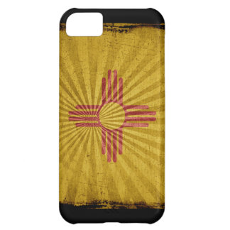 Iphone 5 Case with state flag of New Mexico