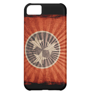 Iphone 5 Case with state flag of Tennessee