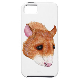 iphone 5 vibe case - cartoon rat portrait