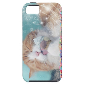 Iphone 5s Case Sugar Kitty Ice Cream Illustration