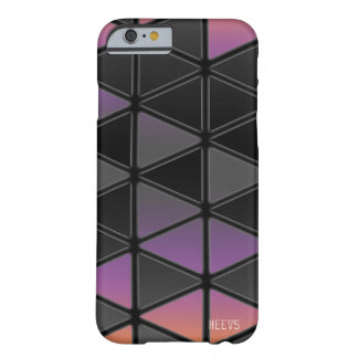 "iPhone 6/6S Case ""Reflections"" Black Heevs™"