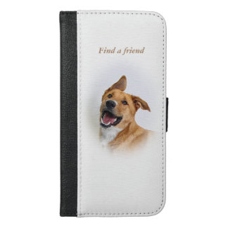 iPhone 6/6s Plus Wallet Case featuring Oscar