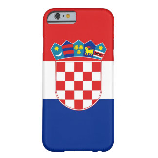 iPhone 6 case with Flag of Croatia Barely There iPhone 6 Case