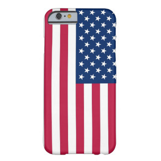 iPhone 6 case with Flag of the USA Barely There iPhone 6 Case