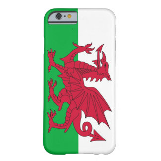 iPhone 6 case with Flag of Wales Barely There iPhone 6 Case