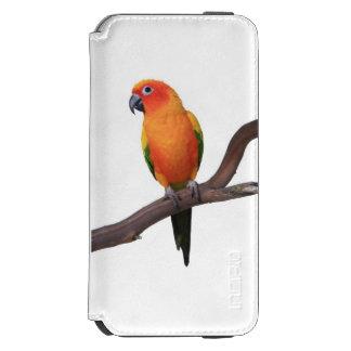 iPhone 6 Wallet Case with Sun Conure Parrot Incipio Watson™ iPhone 6 Wallet Case