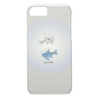 iPhone 7, Barely There With Opal Koi Fish iPhone 8/7 Case