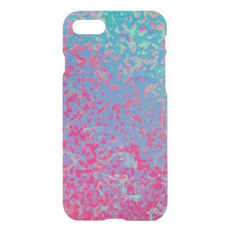 iPhone 7 Case Colorful Corroded Background