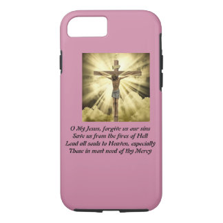 iPhone 7 case with Fatima Prayer