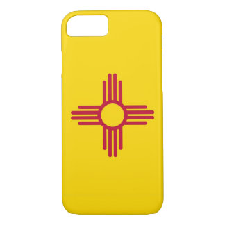 iPhone 7 case with Flag of New Mexico