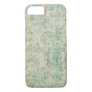 iPhone 7 case worn vintage cloth look