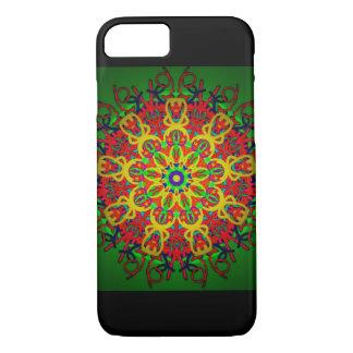 iPhone 7 Dark Green Mandala iPhone 8/7 Case