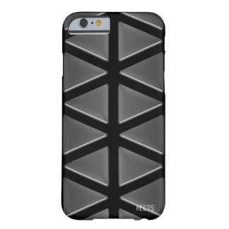 "iPhone Case 6/6S ""Tri-Reflections"" Black Heevs™"