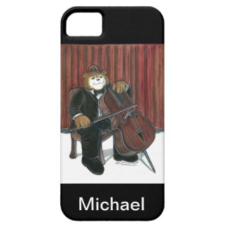 iPhone Case for Cello Player