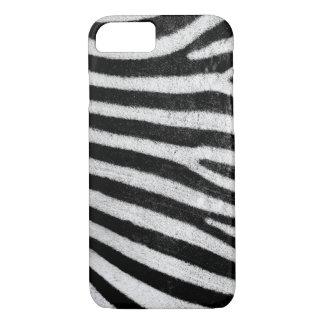 iPhone Case, Zebra texture iPhone 8/7 Case