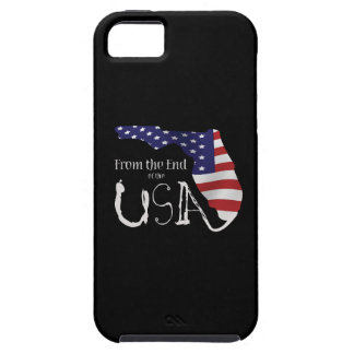 iPhone casewith From the End of the USA logo. Tough iPhone 5 Case
