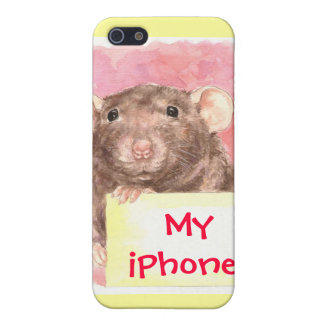 iPhone cover for Rat Lovers iPhone 5/5S Covers