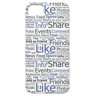 iPhone iPad Case Facebook Like Word Collage