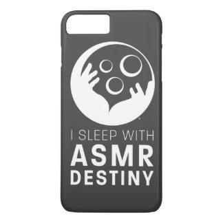 "iPhone Plus Case - ""I Sleep With ASMR Destiny"""