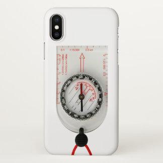 Iphone X case orienteering compass