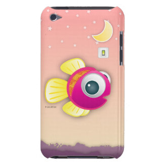 iPod Touch 4 Hard Cover Case designed by LaLafish Barely There iPod Case