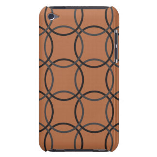 iPod Touch Barely There Case - Brown Circle Barely There iPod Covers