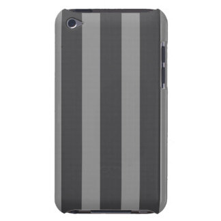 iPod Touch Barely There Case - Dk & Lt Gray Stripe iPod Case-Mate Cases