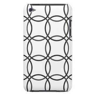 iPod Touch Barely There Case - White Circle Barely There iPod Cover