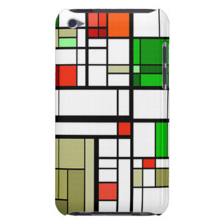 iPod Touch Case with modern art design.
